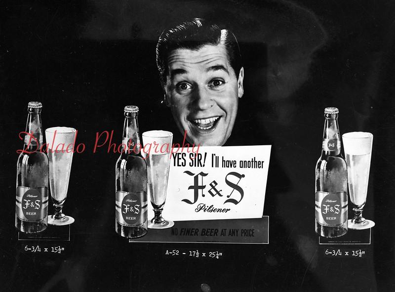 F&S advertising.