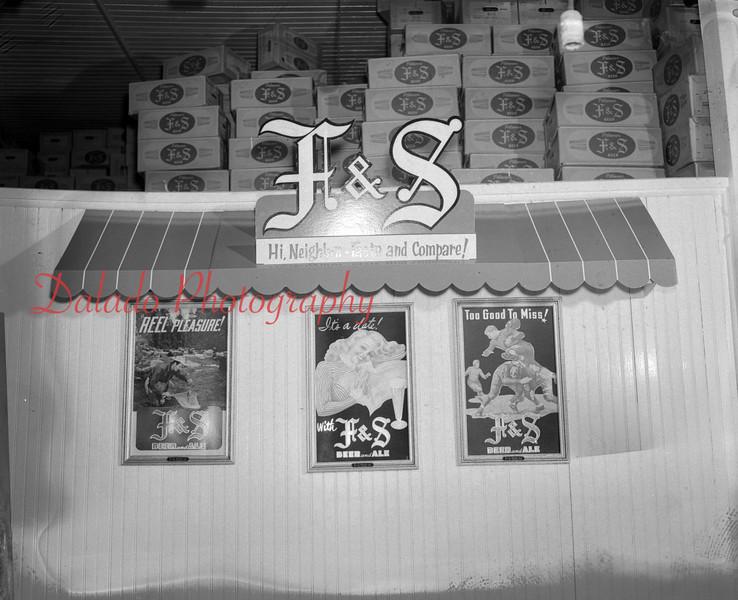 (01.08.53) F&S advertisements.