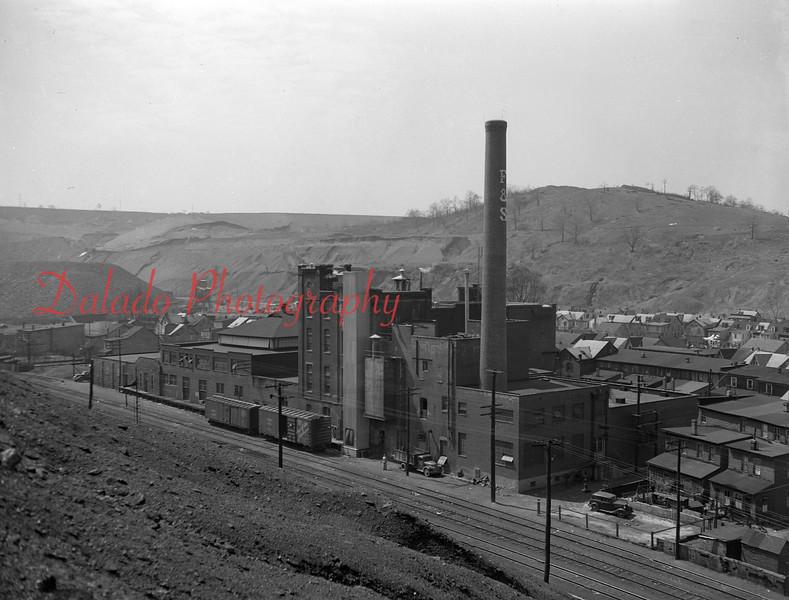 F&S Brewery in the Fifth Ward of Shamokin.