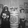 (1958) Halloween outfits, including this interesting F&S can.
