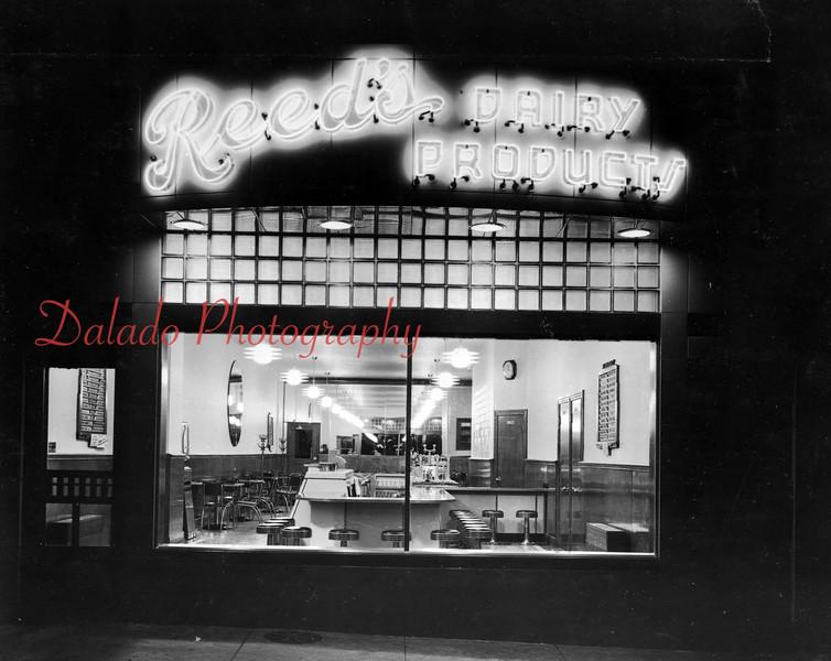 Reed's store along Oak Street in Mount Carmel.