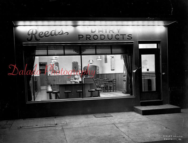 Reed's store along Shamokin Street.