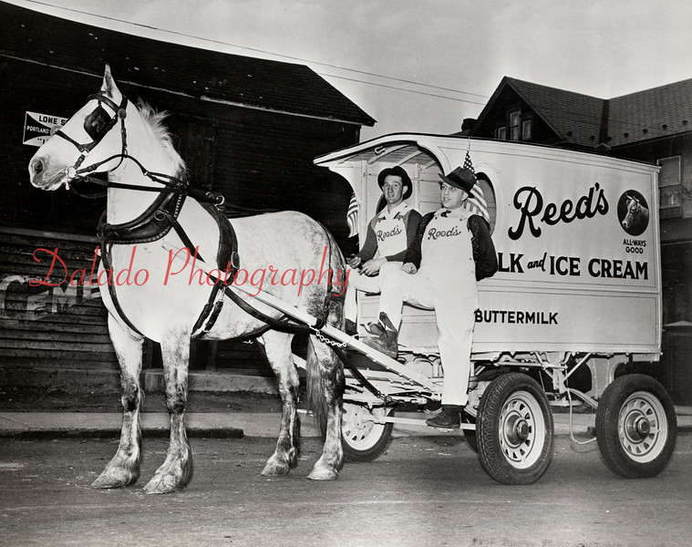 Reed's wagon.