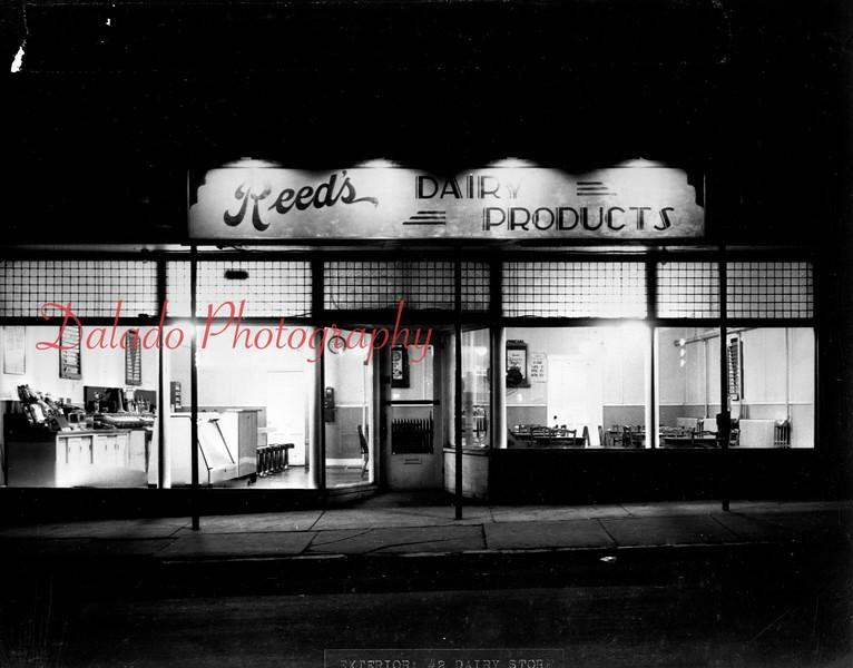 Reed's store along Sunbury Street.
