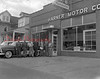(1956) Harner Motor Co. along Third Street.
