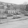 (April 1956) Frank Miller gas station at Sunbury and Franklin streets.