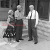 (08.14.58) Mr. Shroyer with two people he had not seen for 50 years. Arthur McCoy were breaking boys for a few years at the Buck Ridge Colliery.