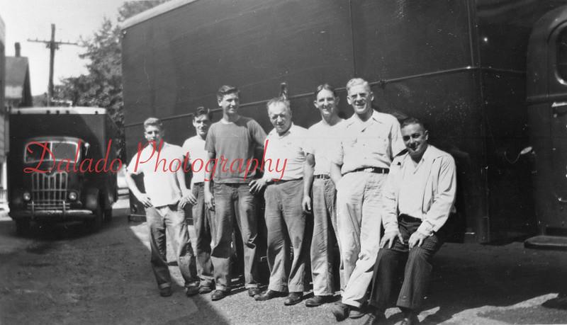 Drivers of the Shamokin Dress Company.
