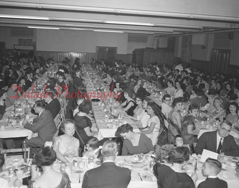 (Dec. 1959) Shamokin Dress Christmas party.