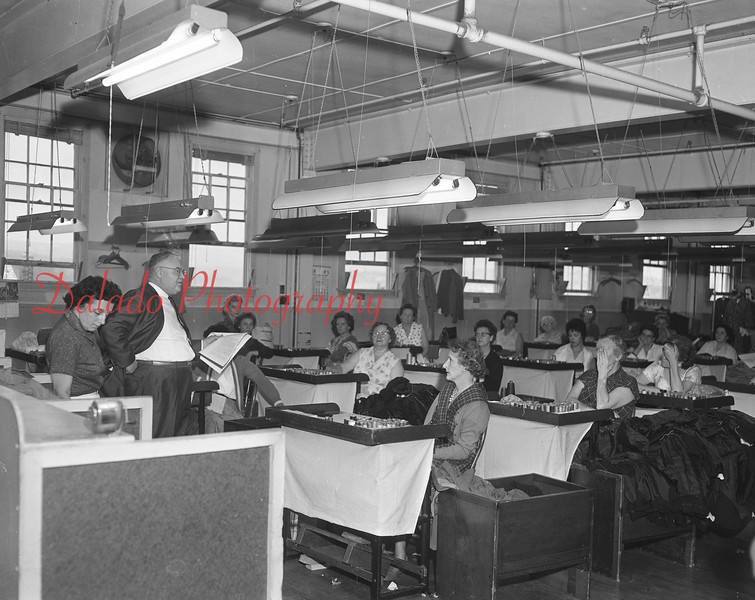 (1961) Mill interior.