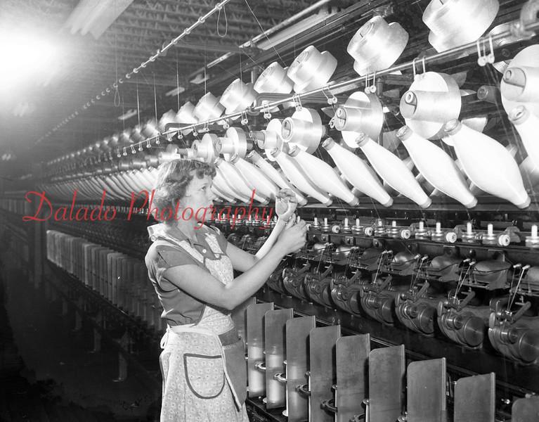 (Feb. 1952) Shamokin Woolen Mill.