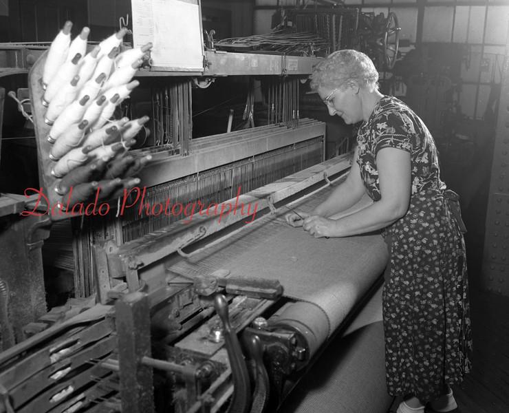 (Feb. 1951) Shamokin Woolen Mills.