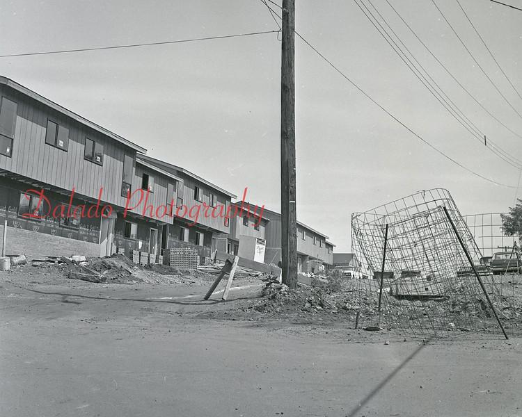 Raspberry Hill complex construction.