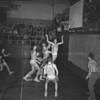 (1958) Basketball at Shamokin.