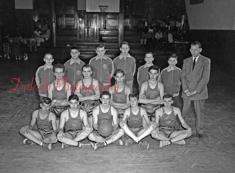 Conyngham Basketball Team.