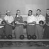 (1959) Bowling team.