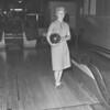 Bowling lady.