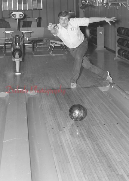 (1982) Bowler at Crown Lanes.