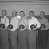 (1955) Bowling group.