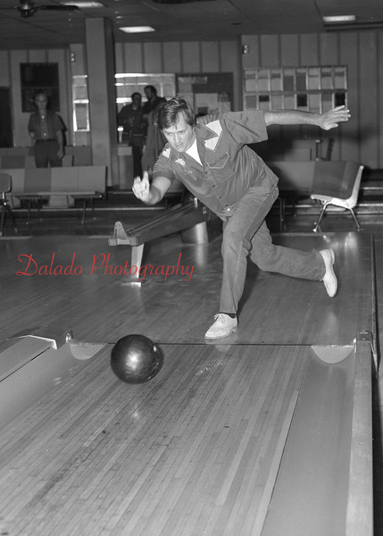 Crown Lane bowlers are Red Gaydon, Jim Wehr and Rocky Janovich.