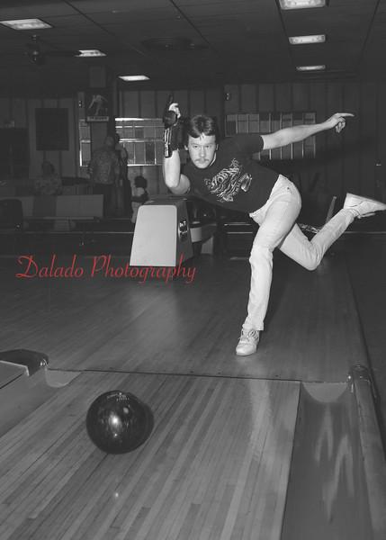 (01.14.93) Rock Komara bowling a 700 game.