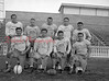 (11.19.53) CTHS football team are, front row, from left, Sid Eltringham, Joe Sabol, Mike Estock and Bill Shaffer; second, Louie Ferentz, Joe Wasko, Carl Petrovich, Charlie Sutsko and Barry Deppen.