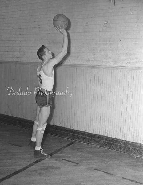 (1946 to 47) Coal Township basketball player.