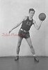 1944-45 Coal Township High School basketball team player: Pogozelski.