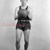 1944-45 Coal Township High School basketball team player: Gaughan.