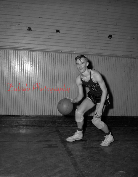 (03.04.54) Richie Johns, player for Coal Township High School.