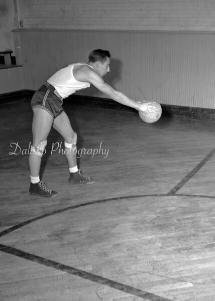 (1946 to 47) Coal Township basketball player.