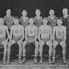 (1932) Coal Township High School basketball are, kneeling, Bill Lubnow, S. Malisheskie, B. McClain, B. Herr and J, Michaels; standing, L. Smith, D. DiCiacinto, B. Ostroskie, C. Kunkle and J. Fitzpatrick.