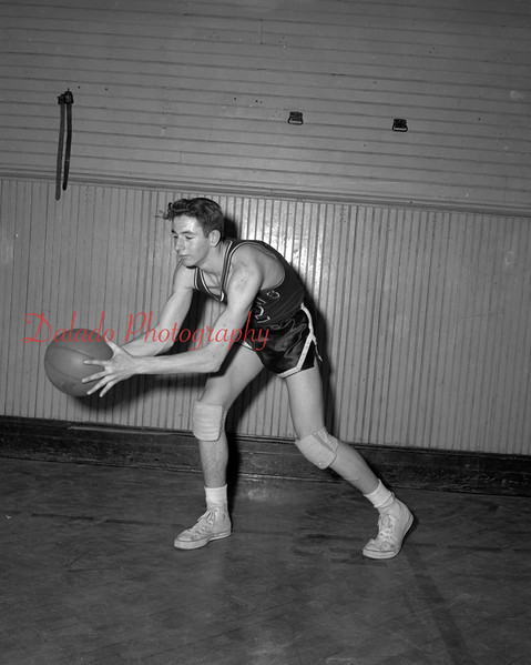 (03.04.54) Mike Neary, player for Coal Township High School.