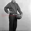 1944-45 Coal Township High School basketball team player: Knovich.