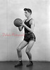 1944-45 Coal Township High School basketball team player: Worhack.