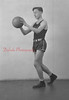 1944-45 Coal Township High School basketball team player: Stank.
