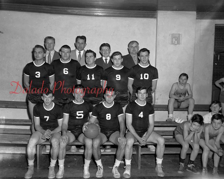 (1955) Coal Township High School basketball.