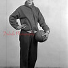1944-45 Coal Township High School basketball team player: Knovich.