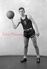 1944-45 Coal Township High School basketball team player: Zaneski.