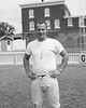 """(09.19.1957) Shown in the Coal Township High School football stadium is Joe """"Jazz"""" Diminick. Jazz was coach of the Purple Demons in 1956 and 1957."""