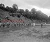 (1949 or 1950) Coal Township High School football practice.