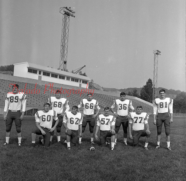 (Aug. 1970) Mount Carmel football.