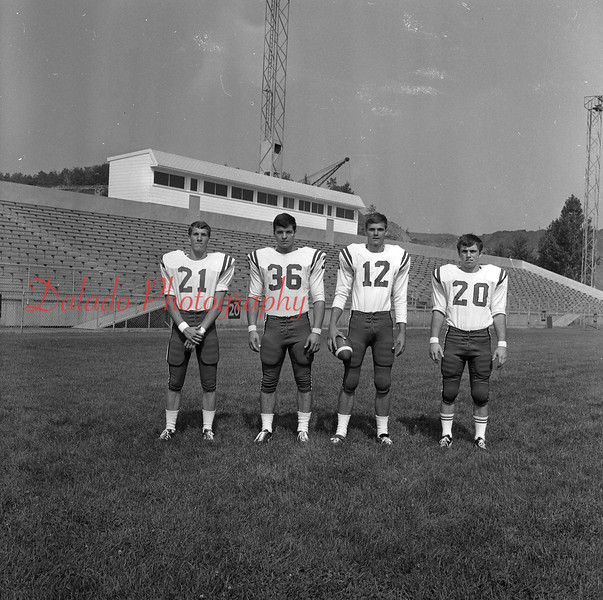 (Aug. 1970) Mount Carmel football.