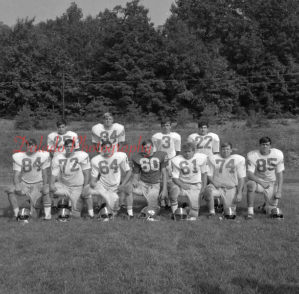 (Aug. 1971) Mount Carmel football.