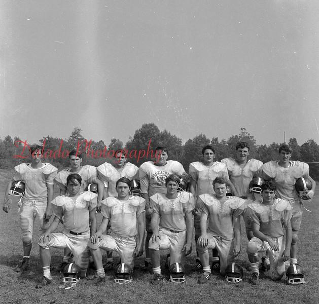 (Aug. 1971) Shamokin football.