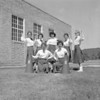 (09.16.57) Kulpmont High School cheerleaders are, front row, from left, Christine Olbrisk and Virginia Balon; back, Sandra Dudra, Phylles Frye, Carol Pisoni, Theada Frye and Veronica Zacker.