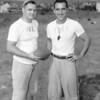 (09.13.53) Mount Carmel Catholic football coaches are Joe Apiclaella, Marion Heights and Jack Kosoloski.