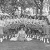 (Sept. 1962) Mount Carmel Catholic football cheerleaders.