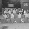 (1959) Mount Carmel Catholic High School cheerleaders are, front row, from left, Roberta Thompson, Mary Carle, Mary Ann Michalowski and Virginia Burns; back, Dorothy Croker, Judy Davis, Roberta Long and Antoinette Scicchitano.
