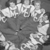 (1961) Mount Carmel cheerleaders.